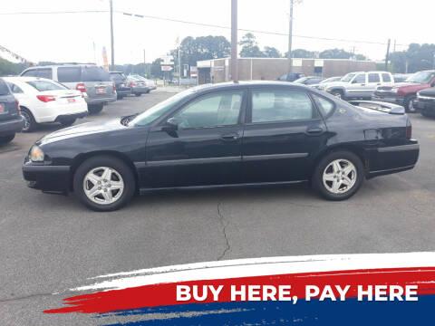 2003 Chevrolet Impala for sale at Prospect Motors LLC in Adamsville AL