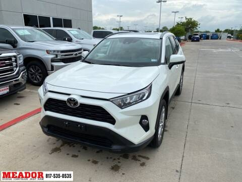 2021 Toyota RAV4 for sale at Meador Dodge Chrysler Jeep RAM in Fort Worth TX
