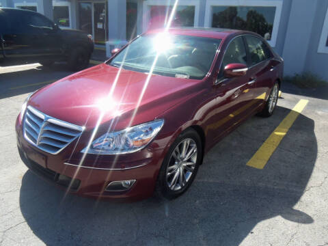 2011 Hyundai Genesis for sale at ORANGE PARK AUTO in Jacksonville FL