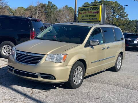 2011 Chrysler Town and Country for sale at Luxury Cars of Atlanta in Snellville GA