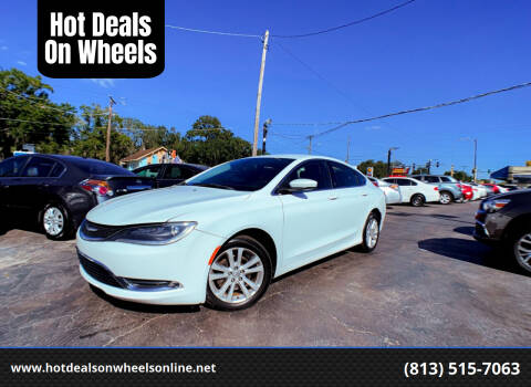 2015 Chrysler 200 for sale at Hot Deals On Wheels in Tampa FL
