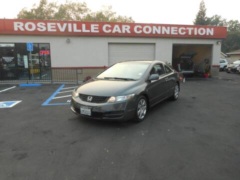 2010 Honda Civic for sale at ROSEVILLE CAR CONNECTION in Roseville CA