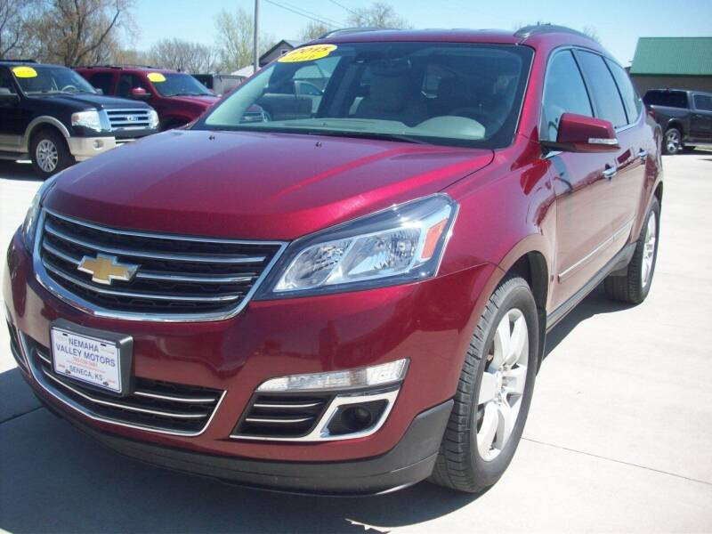 2015 Chevrolet Traverse for sale at Nemaha Valley Motors in Seneca KS