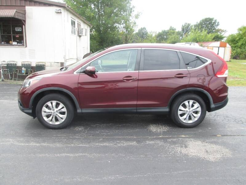 2012 Honda CR-V for sale at Knauff & Sons Motor Sales in New Vienna OH