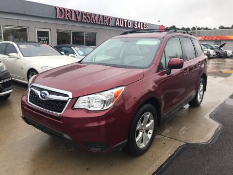 2015 Subaru Forester for sale at DriveSmart Auto Sales in West Chester OH