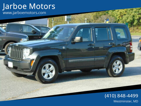 2011 Jeep Liberty for sale at Jarboe Motors in Westminster MD