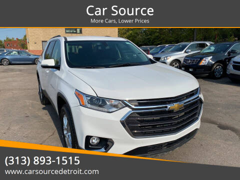 2020 Chevrolet Traverse for sale at Car Source in Detroit MI