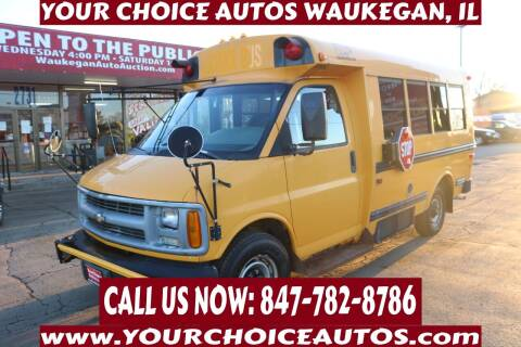 2001 Chevrolet Express Cutaway for sale at Your Choice Autos - Waukegan in Waukegan IL