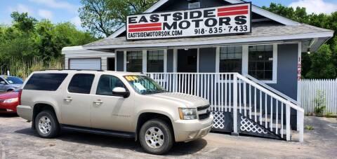 2008 Chevrolet Suburban for sale at EASTSIDE MOTORS in Tulsa OK