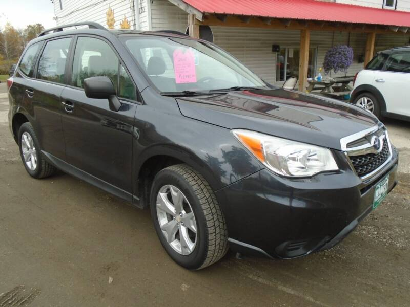 2015 Subaru Forester for sale at Wimett Trading Company in Leicester VT