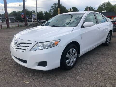 2011 Toyota Camry for sale at Martinez Cars, Inc. in Lakewood CO