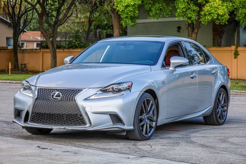 2016 Lexus IS 200t for sale at Easy Deal Auto Brokers in Hollywood FL
