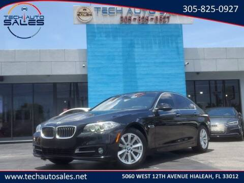 2016 BMW 5 Series for sale at Tech Auto Sales in Hialeah FL