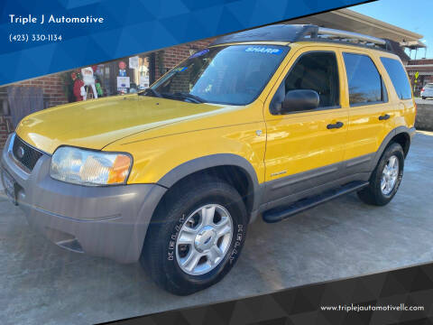 2002 Ford Escape for sale at Triple J Automotive in Erwin TN