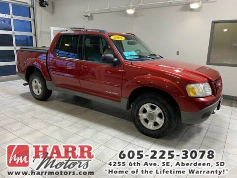 2002 Ford Explorer Sport Trac for sale at Harr Motors Bargain Center in Aberdeen SD