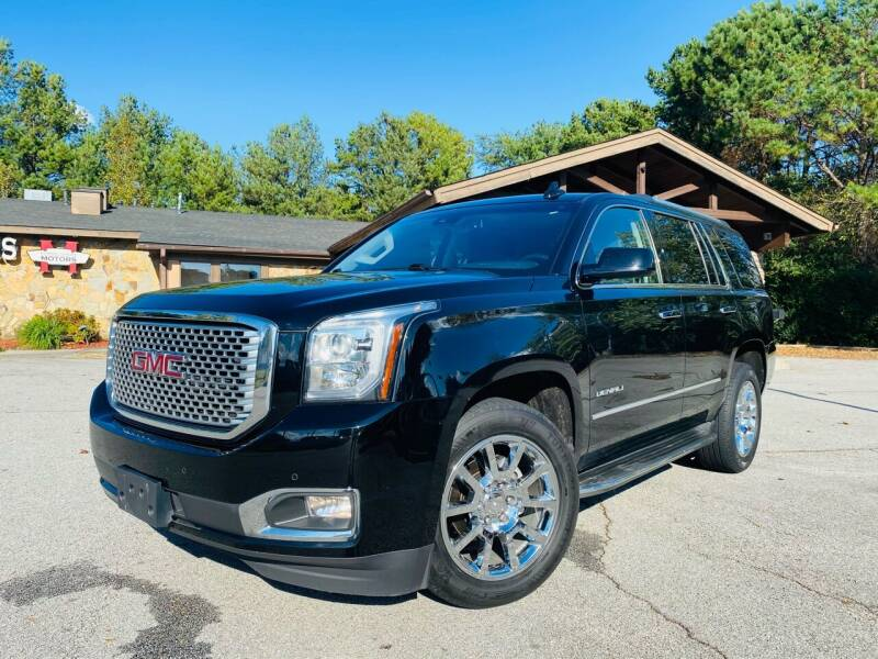 2015 GMC Yukon for sale at Classic Luxury Motors in Buford GA