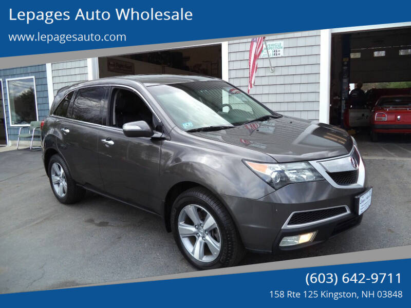 2012 Acura MDX for sale at Lepages Auto Wholesale in Kingston NH