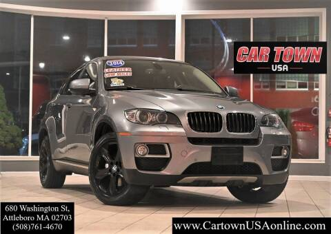 2014 BMW X6 for sale at Car Town USA in Attleboro MA