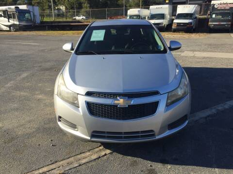 2011 Chevrolet Cruze for sale at Beckham's Used Cars in Milledgeville GA