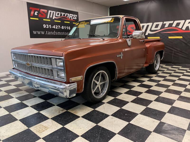 1982 Chevrolet C/K 10 Series for sale at T & S Motors in Ardmore TN