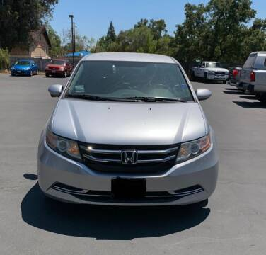 2014 Honda Odyssey for sale at Utah Credit Approval Auto Sales in Murray UT