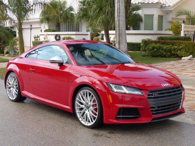 2016 Audi TTS for sale at Lifetime Automotive Group in Pompano Beach FL