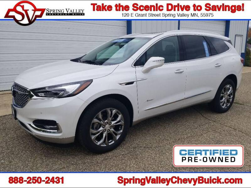 2019 Buick Enclave for sale at Spring Valley Chevrolet Buick in Spring Valley MN