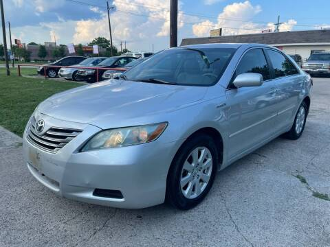 2008 Toyota Camry Hybrid for sale at Texas Select Autos LLC in Mckinney TX