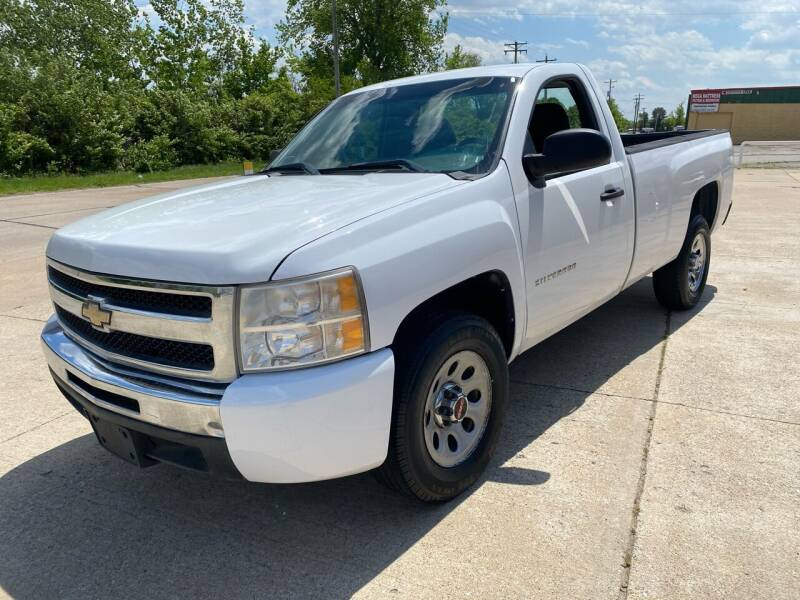 2010 Chevrolet Silverado 1500 for sale at Best Deal Auto Sales in Saint Charles MO
