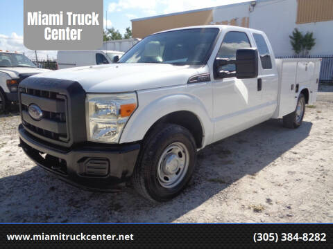2011 Ford F-250 Super Duty for sale at Miami Truck Center in Hialeah FL