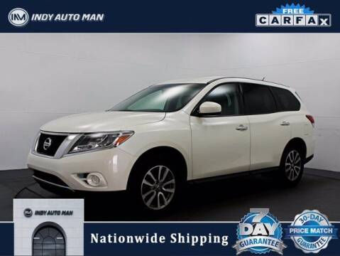 2015 Nissan Pathfinder for sale at INDY AUTO MAN in Indianapolis IN