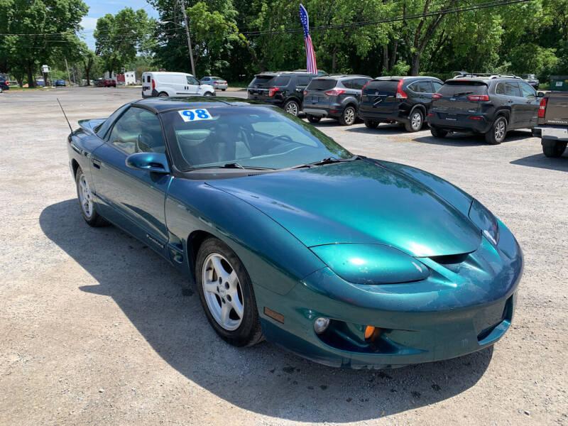 1998 Pontiac Firebird for sale at Evia Auto Sales Inc. in Glens Falls NY