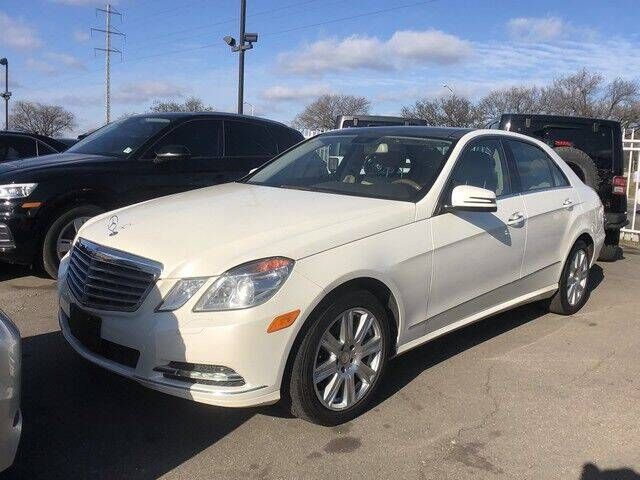 2013 Mercedes-Benz E-Class for sale at SOUTHFIELD QUALITY CARS in Detroit MI