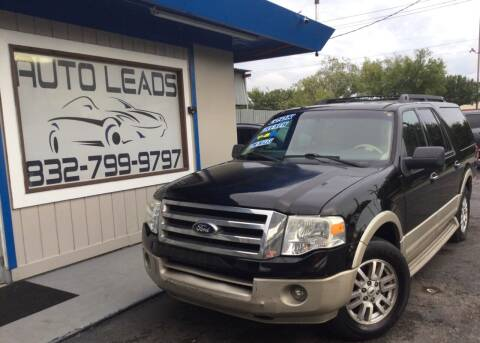 2008 Ford Expedition EL for sale at AUTO LEADS in Pasadena TX