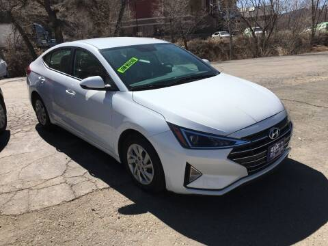 2019 Hyundai Elantra for sale at 4X4 Auto in Cortez CO