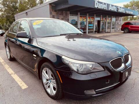 2010 BMW 5 Series for sale at Daniel Auto Sales inc in Clinton Township MI