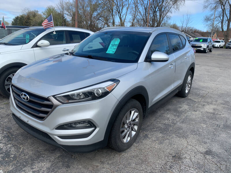 2016 Hyundai Tucson for sale at PAPERLAND MOTORS in Green Bay WI