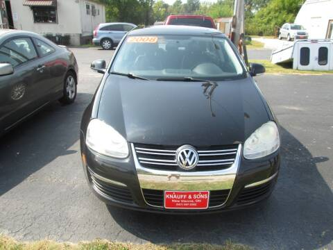 2008 Volkswagen Jetta for sale at Knauff & Sons Motor Sales in New Vienna OH