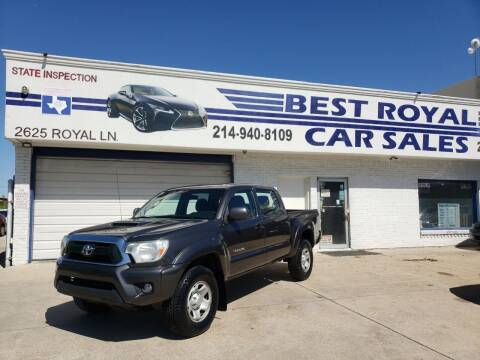 2013 Toyota Tacoma for sale at Best Royal Car Sales in Dallas TX