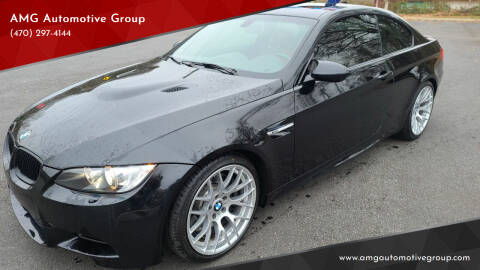 2011 BMW M3 for sale at AMG Automotive Group in Cumming GA