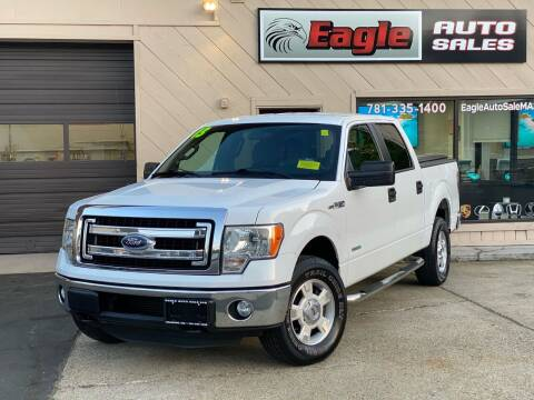 2013 Ford F-150 for sale at Eagle Auto Sales LLC in Holbrook MA