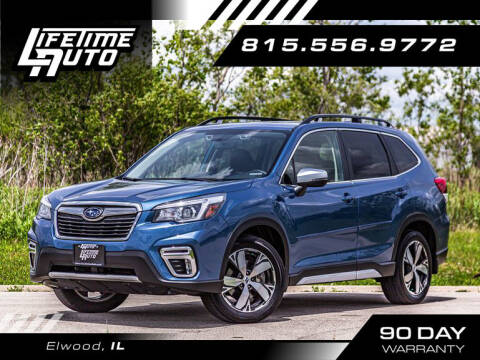 2020 Subaru Forester for sale at Lifetime Auto in Elwood IL