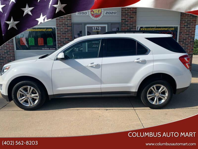 2016 Chevrolet Equinox for sale at Columbus Auto Mart in Columbus NE