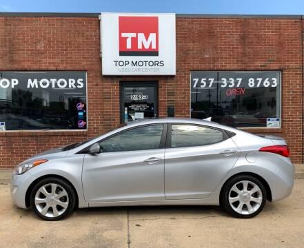 2012 Hyundai Elantra for sale at Top Motors LLC in Portsmouth VA
