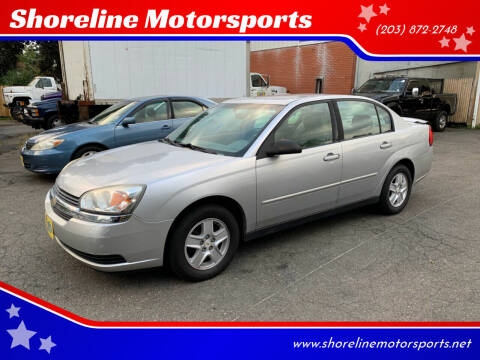 2005 Chevrolet Malibu for sale at Shoreline Motorsports in Waterbury CT