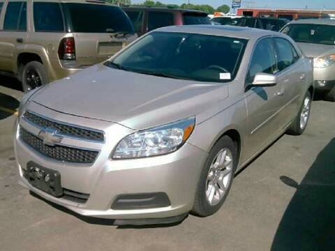 2013 Chevrolet Malibu for sale at Steve's Auto Sales in Madison WI