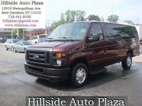 2010 Ford E-Series Wagon for sale at Hillside Auto Plaza in Kew Gardens NY