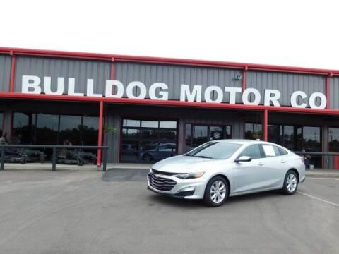 2020 Chevrolet Malibu for sale at Bulldog Motor Company in Borger TX