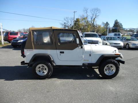 1995 Jeep Wrangler for sale at All Cars and Trucks in Buena NJ