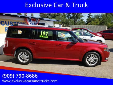 2013 Ford Flex for sale at Exclusive Car & Truck in Yucaipa CA